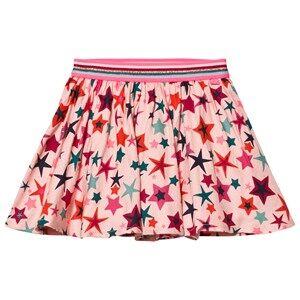 Le Big Girls Skirts Pink Gabriella Star Skirt Pink