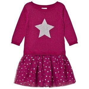 Hatley Girls Dresses Pink Pink Glitter Dress
