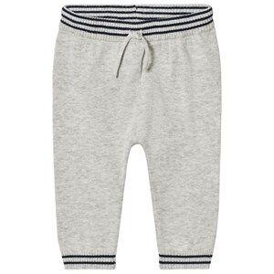Noa Noa Miniature Boys Bottoms Grey Pants Light Grey Melange