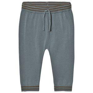 Noa Noa Miniature Boys Bottoms Grey Melange Pants Trooper