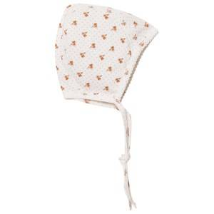 Noa Noa Miniature Girls Headwear White Baby Hat Printed Chalk