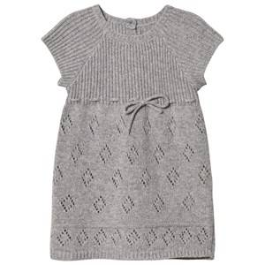 Noa Noa Miniature Girls Dresses Grey Grey Knit Dress