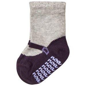Noa Noa Miniature Girls Underwear Grey Shirley Ankle Socks Light Grey