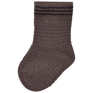 Noa Noa Miniature Boys Underwear Grey Pique Ankle Socks Steeple Grey