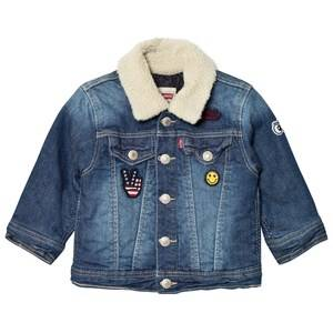 Levis Kids Boys Coats and jackets Blue Denim Trucker Jacket