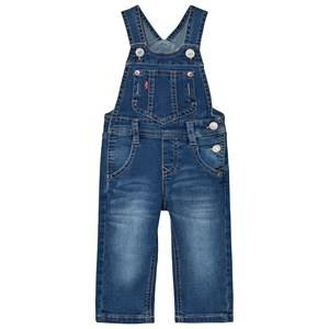 Levis Kids Boys All in ones Blue Denim Dungarees Medium Wash