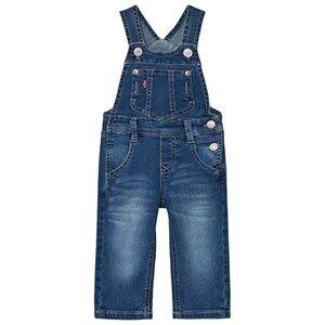 Levis Kids Boys All in ones Blue Denim Dungarees Medium Wash