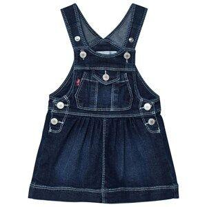 Levis Kids Girls All in ones Blue Denim Dungaree Dress Dark Wash