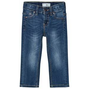 Levis Kids Boys Bottoms Blue 511 Slim Fit Jeans Medium Wash