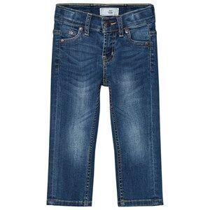 Levis Kids Boys Bottoms Blue 511 Slim Fit Jeans Medium Wash