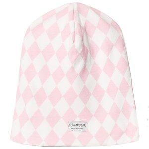 Nova Star Girls Headwear Pink Pink Square Beanie