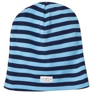 Nova Star Boys Headwear NB Blue Striped Beanie