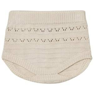 Noa Noa Miniature Girls Shorts White Lua Knit Bloomers Chalk