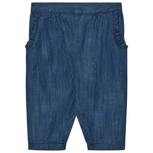 Noa Noa Miniature Girls Bottoms Blue Soft Denim Trousers