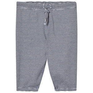 Noa Noa Miniature Boys Bottoms Blue Stripe Pants White/Navy