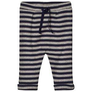 Noa Noa Miniature Boys Bottoms Blue Stripe Pants Grey/Navy