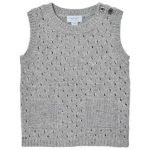 Noa Noa Miniature Boys Jumpers and knitwear Grey Wool Knit Vest Grey