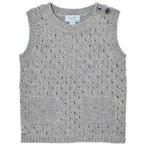Noa Noa Miniature Boys Jumpers and knitwear Grey Wool Knit Vest Grey