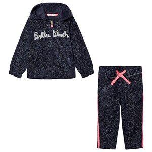 Billieblush Girls Clothing sets Navy Navy Glitter Logo Tracksuit