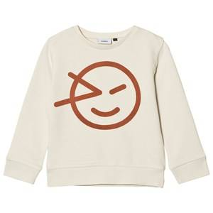Wynken Boys Jumpers and knitwear Cream Cream Wink Sweatshirt