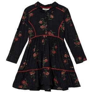 Pepe Jeans Girls Dresses Black Black Floral Print Dress