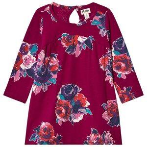 Image of Hatley Girls Dresses Pink Pink Floral Jersey Dress