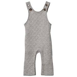 Image of Hatley Boys All in ones Grey Grey Quilted Jersey Dungarees