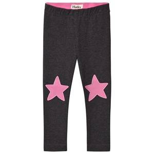 Hatley Girls Bottoms Grey Grey Star Leggings