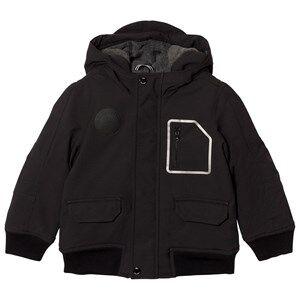 Boss Boys Coats and jackets Black Black Fleece Lined Hooded Parka