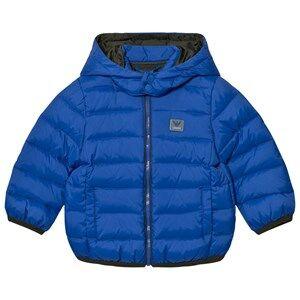 Giorgio Armani Junior Boys Coats and jackets Blue Blue Down Puffer Coat