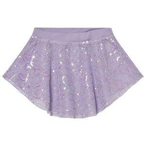 Mirella Girls Skirts Purple Lilac Sequin Butterfly Tulle Skirt