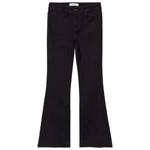 Les Coyotes De Paris Girls Bottoms Black Bowie Flare Jeans Black