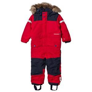 Didriksons Unisex Coveralls Red Björnen Kid´s Coverall Red