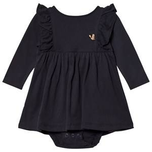 Emile et Ida Girls Dresses Black Orage Baby Body Dress