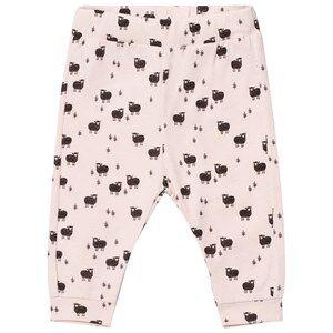 Emile et Ida Girls Bottoms Pink Baby Lamb Sweatpants Rose