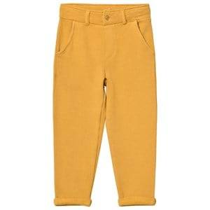 Emile et Ida Boys Bottoms Yellow Sweatpants Ocre
