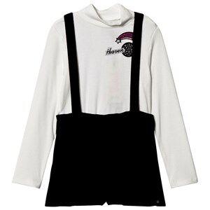 IKKS Girls Clothing sets Cream Cream Polo Neck Jersey Shorts Set