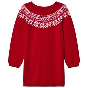 Lillelam Unisex Dresses Red Winter Dress Red