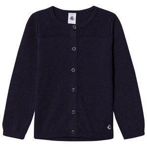 Petit Bateau Unisex Jumpers and knitwear Blue Cardigan Smokin Marine