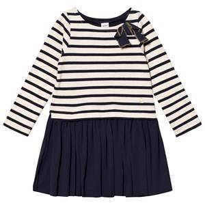 Petit Bateau Girls Dresses White Dress Creme