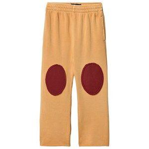 The Animals Observatory Unisex Bottoms Yellow Horse Pants Yellow Plain
