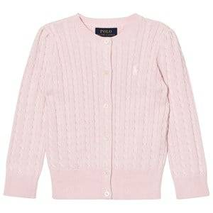 Ralph Lauren Girls Jumpers and knitwear Pink Pink Mini Cable Long Sleeve Cardigan