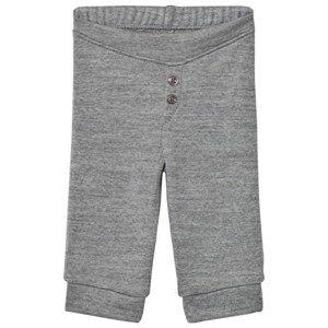 Noa Noa Miniature Boys Bottoms Grey Basic Wool Leggings Grey