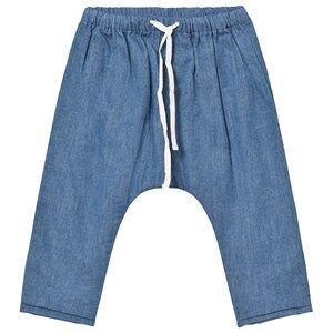 Cyrillus Boys Bottoms Blue Pale Blue Denim Pants