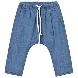 Cyrillus Boys Bottoms Blue Pale Blue Denim Pants