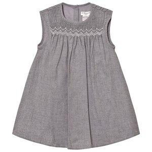 Cyrillus Girls Dresses Grey Grey Marl Flannel Dress