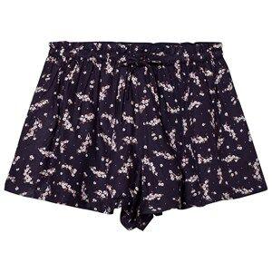 Cyrillus Girls Shorts Navy Navy Floral Print Shorts