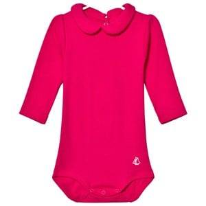Petit Bateau Girls All in ones Pink Baby Body Flashy Pink