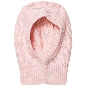 Petit Bateau Girls Headwear Pink Knitted Balaclava Pink