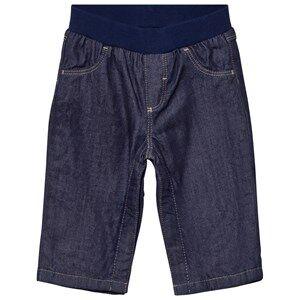 Petit Bateau Unisex Bottoms Blue Lined Blue Jeans